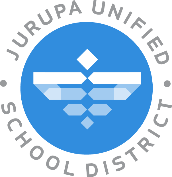 JUSD Logo with eagle and name